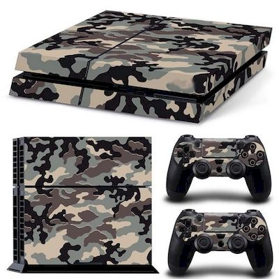 SET ADESIVI PATTERN SERIES DECALS SKIN URBAN CAMOUFLAGE V2 PER CONSOLE PS4