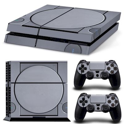 PATTERN SERIES DECALS SKIN VINYL STICKER RETRO CONSOLE FOR CONSOLE PS4 - N SHOP