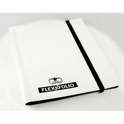 ULTIMATE GUARD ALBUM 9 TASCHE 20 PAGINE FLEXFOLIO BIANCO