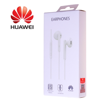 CUFFIE AURICOLARI HEADSET HUAWEI AM115 STEREO BIANCO IN BLISTER