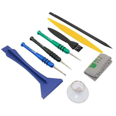 KIT ATTREZZI  OPENING TOOLS BST-606 PER IPHONE IPAD SMARTPHONE TABLET