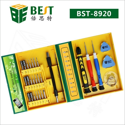 kit opening tools set attrezzi bst-8920 per iphone ipad smartphone tablet
