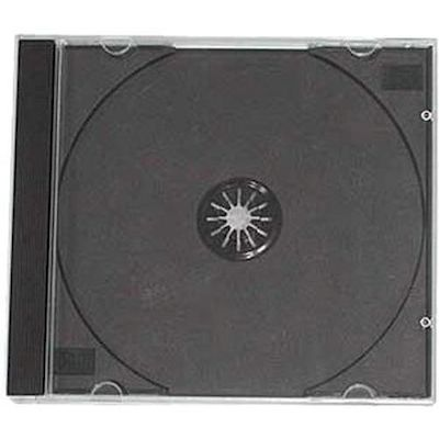 CUSTODIA CD JEWEL CASE 10 PEZZI