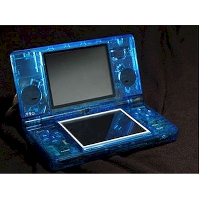 dsi case di ricambio eye candy shell xcm crystal blu