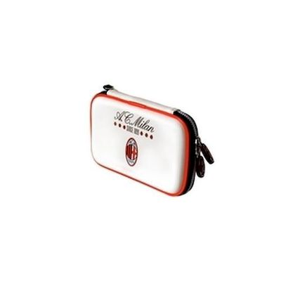 3DS / DSI / DS LITE AC MILAN CARRY BAG WHITE TALISMOON - TALISMOON