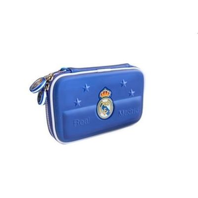 3DS / DSI / DS LITE CARRY CASE CUSTODIA REAL MADRID BLU TALISMOON