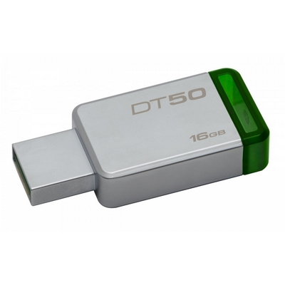 CHIAVETTA USB 3.1 FLASHDRIVE KINGSTON 16GB DATA TRAVELER DT50