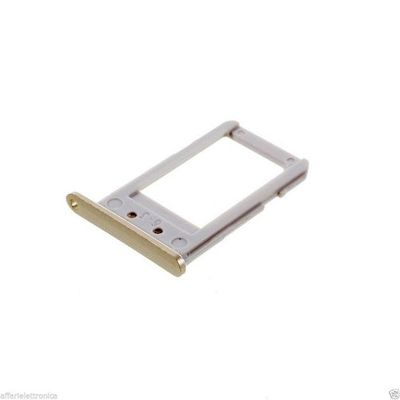 SLOT SIM CARD TRAY HOLDER GOLD FOR SAMSUNG GALAXY S6 EDGE PLUS G928