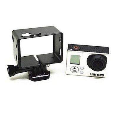 TMC THICKER BACPAC PROTECTIVE FRAME MOUNT BLACK FOR GOPRO HD HERO 3/3+/4 CAMERA