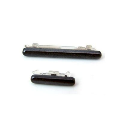 REPLACEMENT POWER AND VOLUME BUTTONS BLACK FOR SAMSUNG GALAXY S3 GT-I9300 - N SH