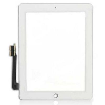 IPAD 3/4 TOUCH SCREEN COMPLETED WHITE - N SHOP