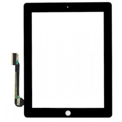 IPAD 3/4 TOUCH SCREEN COMPLETED BLACK - N SHOP