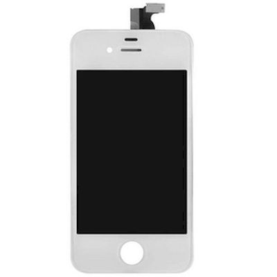 iphone 4s lcd screen and touch screen compatible white - N Shop