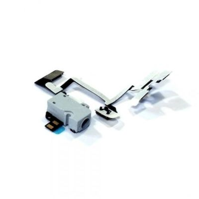 IPHONE 4 HEADPHONE JACK WHITE - N SHOP