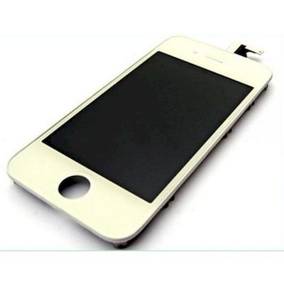IPHONE 4 LCD SCREEN AND TOUCH SCREEN ORIGINAL WHITE - NOBRAND