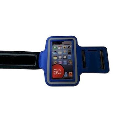 IPHONE 5 SPORT ARMBAND CASE DARK BLUE - N SHOP