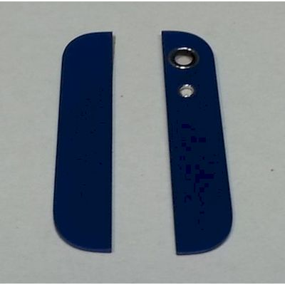 IPHONE 5 BACK COVER GLASSES WITH LENS BLUE - N SHOP