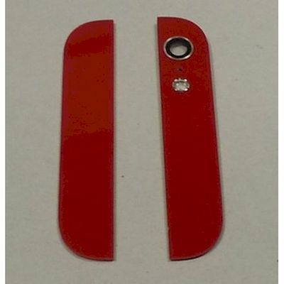 IPHONE 5 BACK COVER GLASSES WITH LENS RED - N SHOP