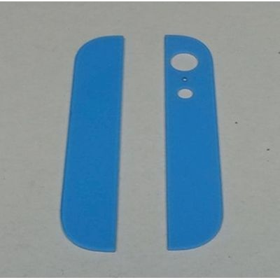 IPHONE 5 BACK COVER GLASSES LIGHT BLUE - N SHOP