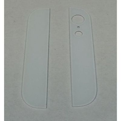 IPHONE 5 BACK COVER GLASSES WHITE - N SHOP