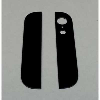 VETRI COVER POSTERIORE NERO PER IPHONE 5