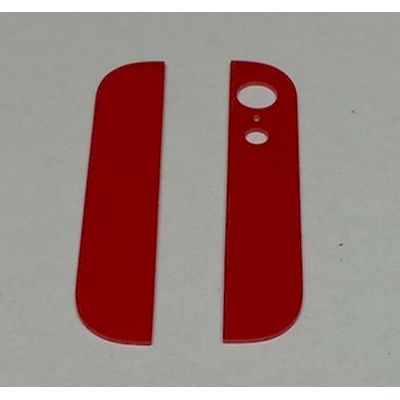 IPHONE 5 BACK COVER GLASSES RED - N SHOP
