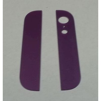 IPHONE 5 BACK COVER GLASSES PURPLE - N SHOP