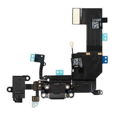 IPHONE 5C CONNECTOR FLEX CABLE BLACK - N SHOP