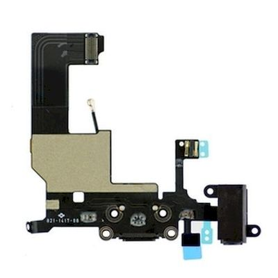 IPHONE 5 CONNECTOR FLEX CABLE BLACK - N SHOP