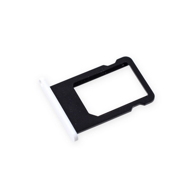 SLOT SIM CARD HOLDER WHITE FOR IPHONE 5C - N SHOP