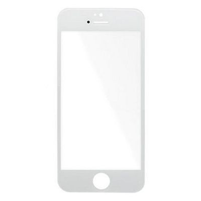 REPLACEMENT COMPATIBLE GLASS WHITE FOR IPHONE 5S - N SHOP