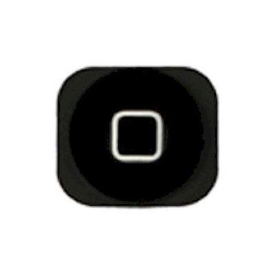 IPHONE 5 - 5C HOME BUTTON BLACK - N SHOP