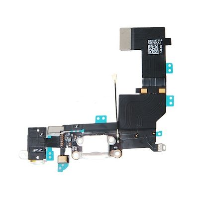 IPHONE 5S CONNECTOR FLEX CABLE WHITE - N SHOP
