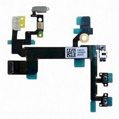 IPHONE 5S POWER VOLUME MUTE FLEX CABLE - N SHOP