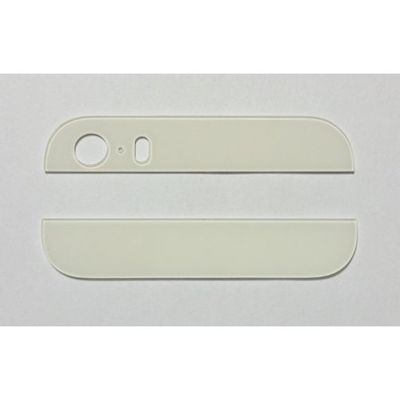 IPHONE 5S BACK COVER GLASSES WHITE - N SHOP