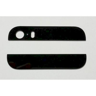 VETRI COVER POSTERIORE NERO PER IPHONE 5S