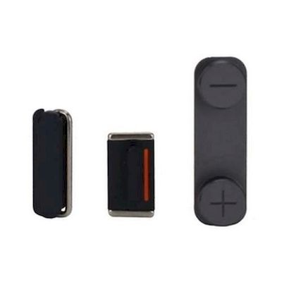 IPHONE 5 POWER VOLUME MUTE BUTTONS BLACK - N SHOP