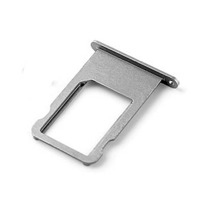 SLOT SIM CARD TRAY NERO DI RICAMBIO PER IPHONE 6 PLUS