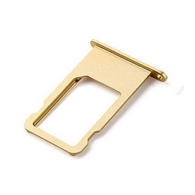 SLOT SIM CARD TRAY GOLD DI RICAMBIO PER IPHONE 6 PLUS