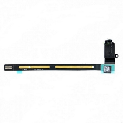 AUDIO EARPHONE JACK FLEX CABLE REPLACEMENT BLACK FOR IPAD AIR 2 - N SHOP