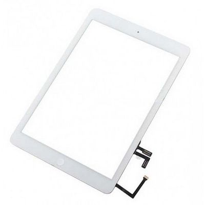 SCHERMO TOUCH SCREEN QUALIT� TOP COMPLETO BIANCO PER IPAD AIR 1 / 2017