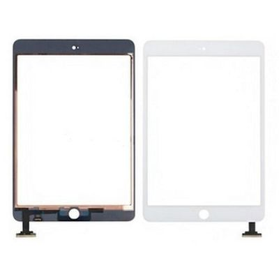 SCHERMO TOUCH SCREEN COMPATIBILE DI RICAMBIO BIANCO PER IPAD MINI 1 - 2 - 3