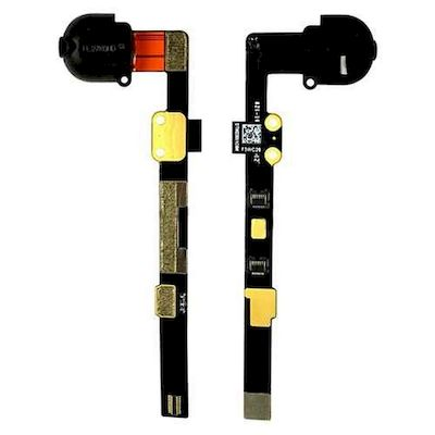 CAVO FLEX AUDIO JACK CUFFIA NERO PER IPAD MINI 2 - 3 RETINA