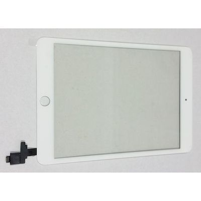 SCHERMO TOUCH SCREEN COMPATIBILE COMPLETO DI RICAMBIO BIANCO PER IPAD MINI 3