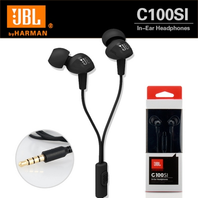 CUFFIE AURICOLARI IN-EAR STEREO HEADSET JACK 3,5MM JBL C100SI