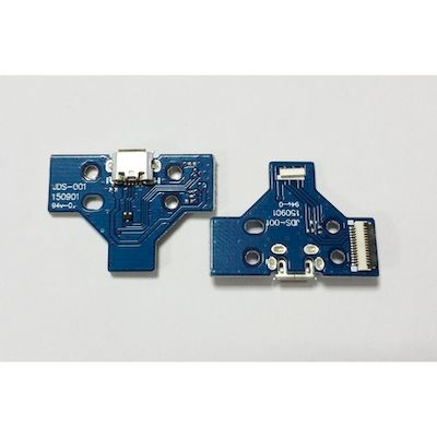 PCB BOARD 14 PIN JDS-001 WITH MICRO USB PORT FOR CONTROLLER DUAL SHOCK 4 PS4 - N