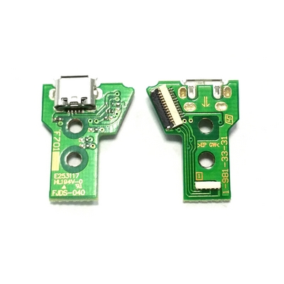 PCB BOARD 12 PIN JDS-040 WITH MICRO USB PORT FOR CONTROLLER DUAL SHOCK 4 PS4 V2