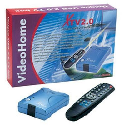 (CT138) VIDEO HOME USB 2.0 TV BOX CON TELECOMANDO