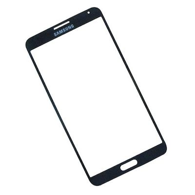 SAMSUNG GALAXY NOTE 3 N9000 N9005 FRONT GLASS BLACK