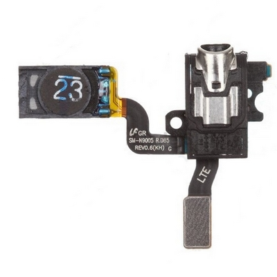 EARPHONE JACK WITH EAR SPEAKER FLEX CABLE FOR SAMSUNG GALAXY NOTE 3 N9005